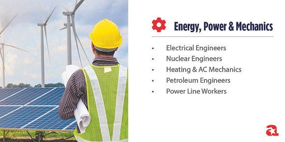 Energy, Power & Mechanics Module Signs