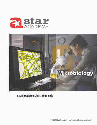 Microbiology Binder Cover