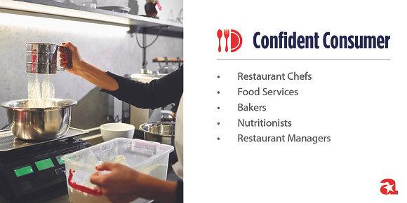 Confident Consumer Module Sign