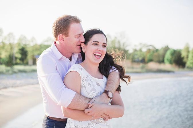Samantha & Alec // Marion, MA Engagement Session