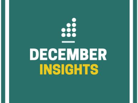 December Workforce Data Newsletter