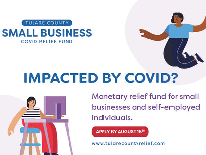 Tulare County Small Business COVID Relief Fund
