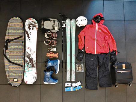 滑雪旅行如何 Packing
