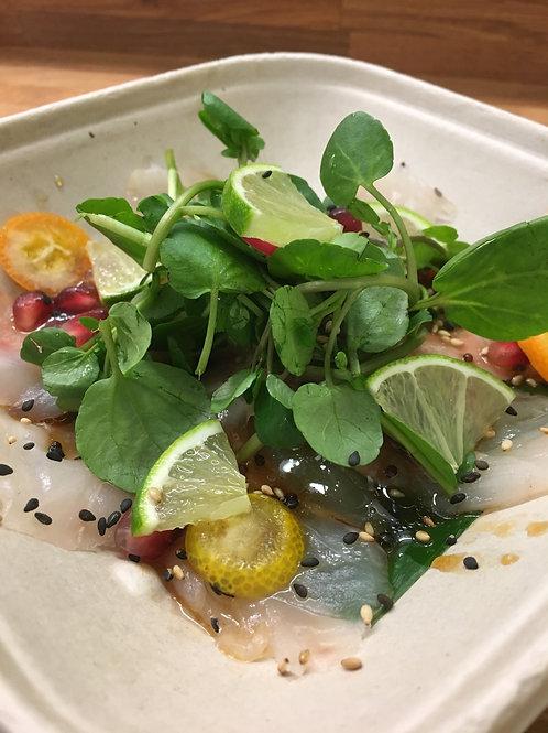 Yellowtail Tiradito Sashimi (6 slices)
