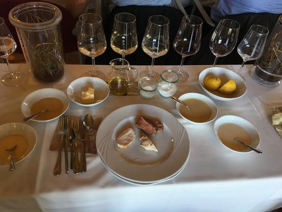 4 Soßen zum Fleisch - welcher Wein....jp