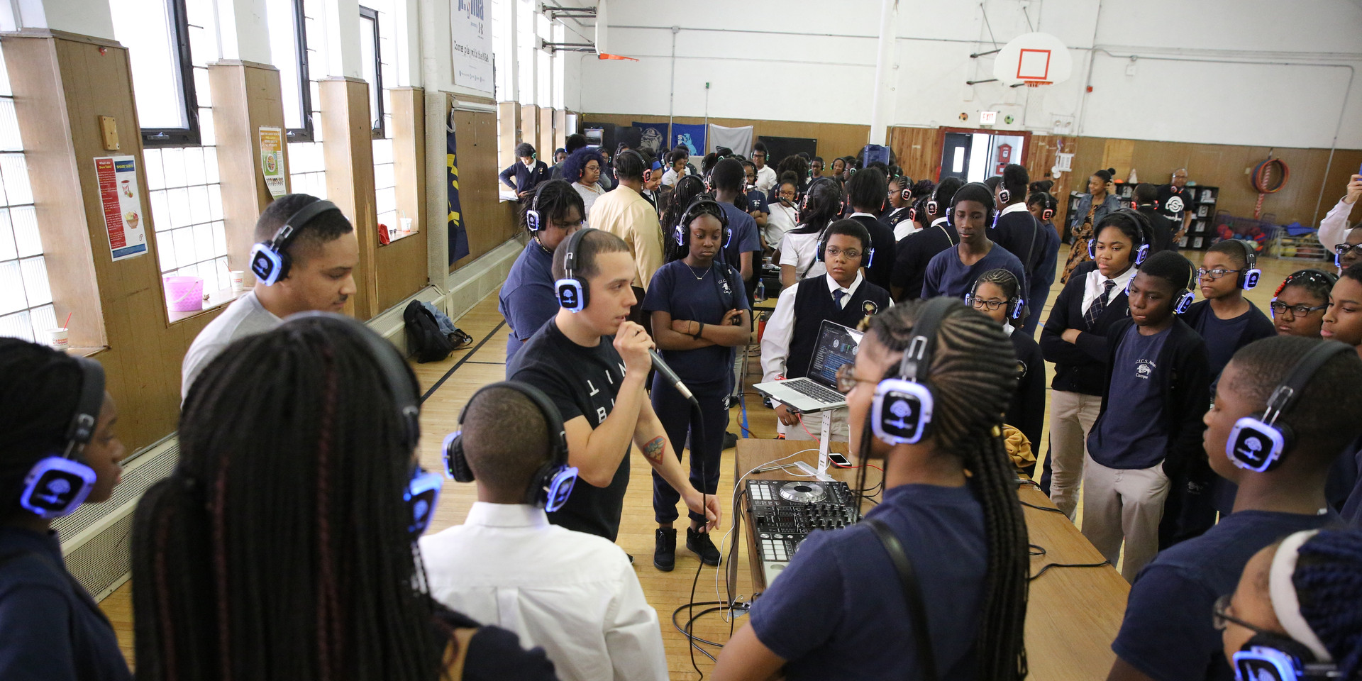 DJ Class at Avalon Park School