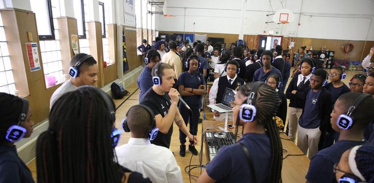 DJ Class at Avalon Park School