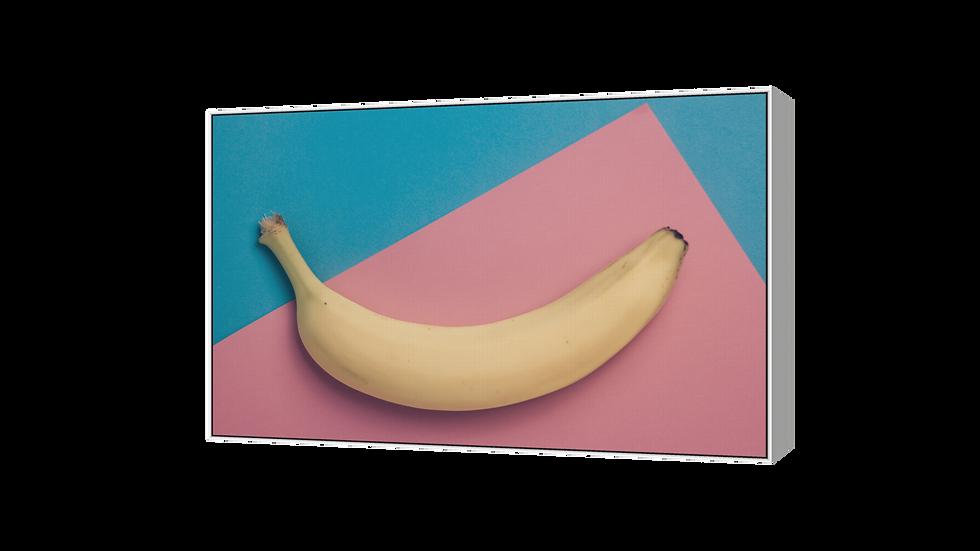 "Akustikpaneel ""Sonics"", bedruckt mit Banane"