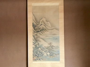 Sansui-zu (hanging scroll))
