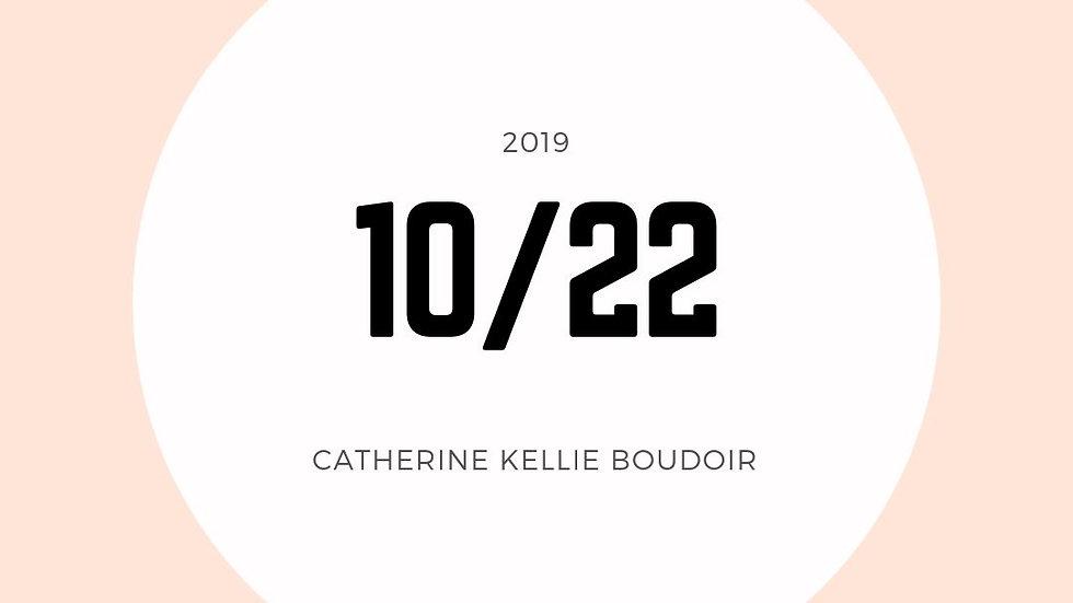 October 22nd (9am)