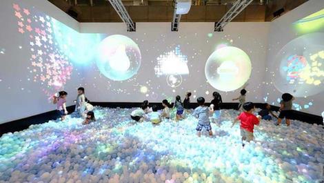 デジタルアトラクション『Bubble World』