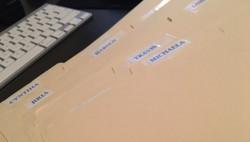 Cast Folders