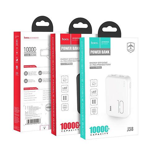 "HOCO Power bank ""J38 Comprehensive"" 10000mAh dual USB output"