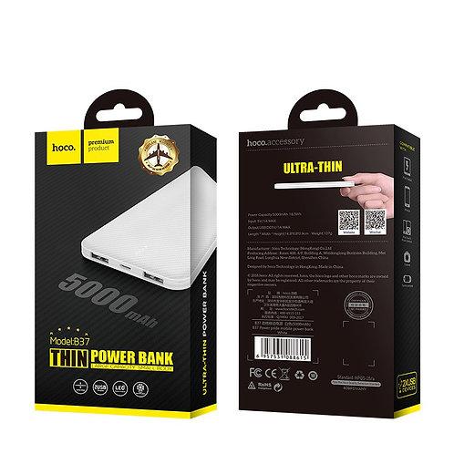 "HOCO Power bank ""B37 Persistent"" 5000mAh dual USB"