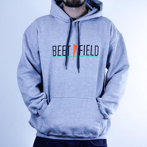 BEETFIELD Hoodie white