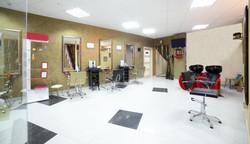 Interior of Modern Salon