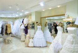 Interior of Bridal Store