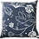 Thumbnail: Navy Floral Pillow Cover