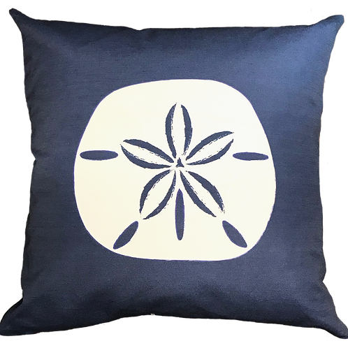 Large Sand Dollar Pillow Cover