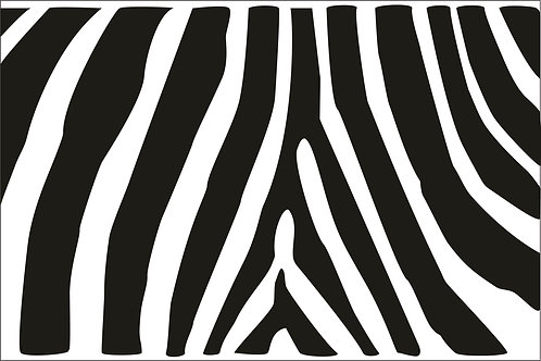 Black Zebra Mask