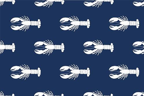 Navy Lobster Mask