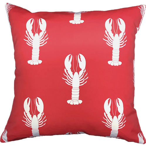 Red Lobster 20 x 20 Pillow Cover