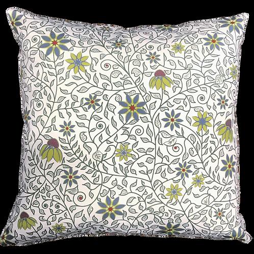 Secret Garden Pillow Cover