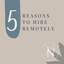 5 reasons to hire remotely