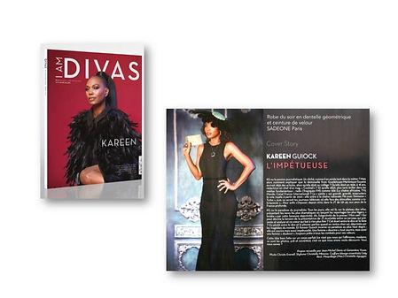 Sadeone Paris Cover Story I AM DIVAS Magazine