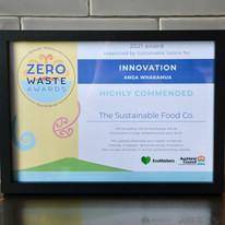 The Sustainable Food Co. Zero Waste Award