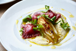 Caramelised Fennel and Butter Bean Puree