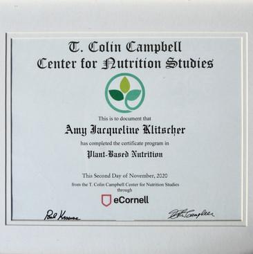 Nutrition Certificate