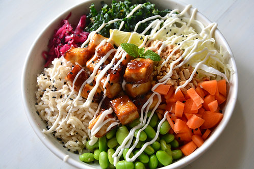 Teriyaki Tofu Abundance Bowl