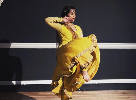 SBDC dancer wows at London Fashion week