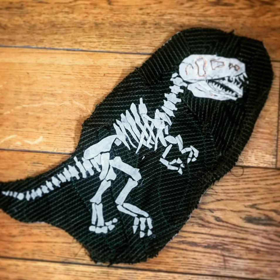 Dinosaur of the museum