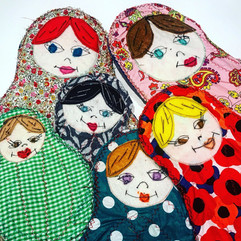 The dolls in the family