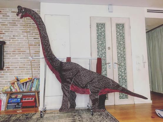 Standing Brachiosaurus