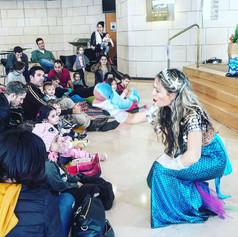 Mermaid birthday party at Mercaz Einav, Tel Aviv