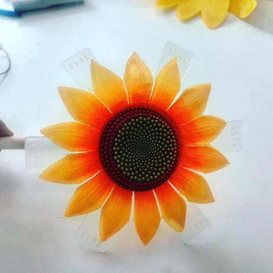 Flower base