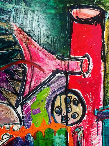 Living out Loud, Consumed by Colour,  Detail