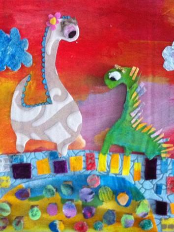 Dinosaurs from Wallpaper