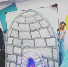 Elsa and Pip-Pip's igloo!