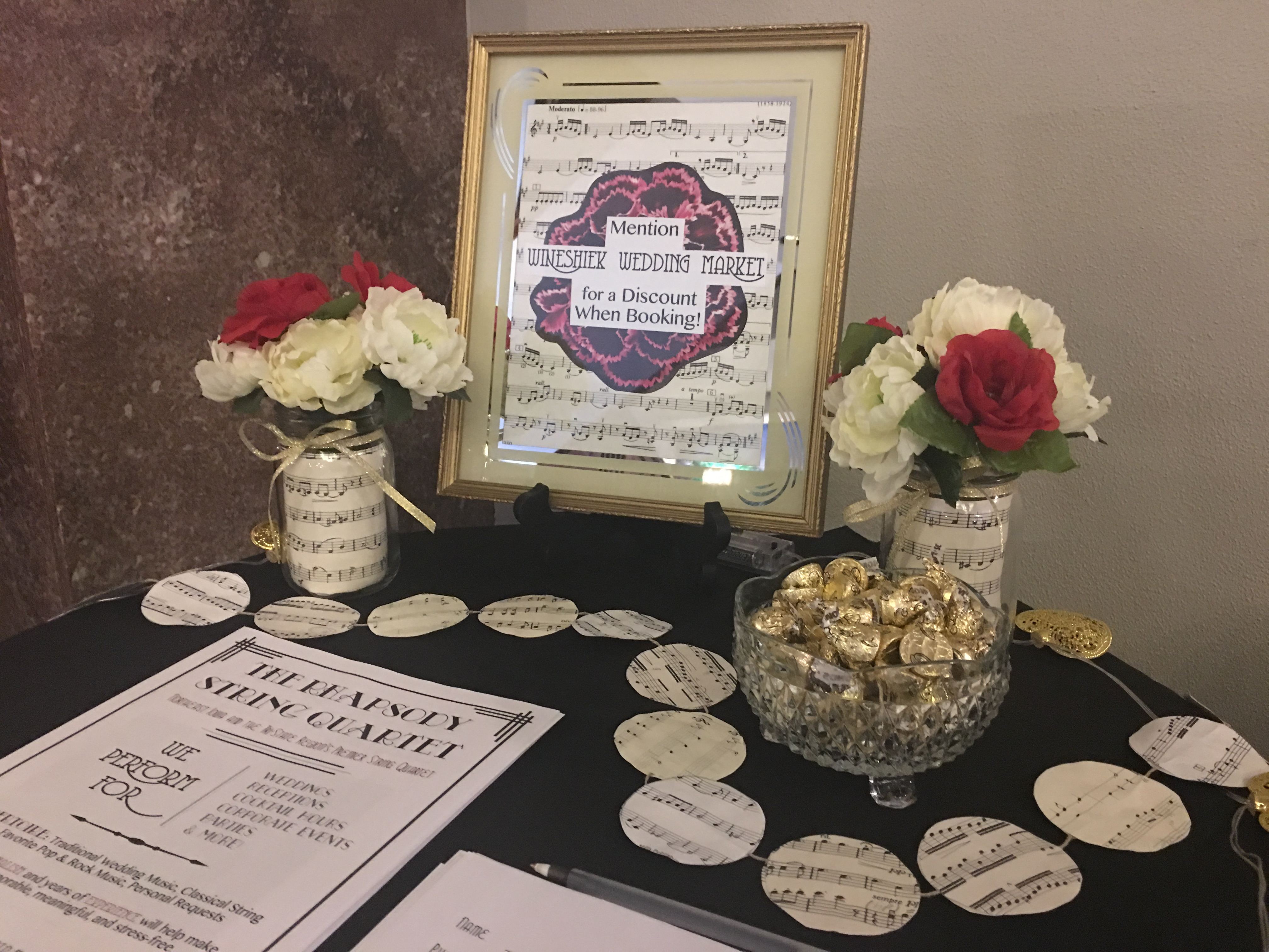 Find Us at Area Wedding Markets