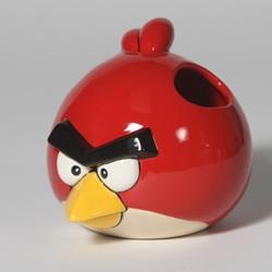 angry bird pencil holder