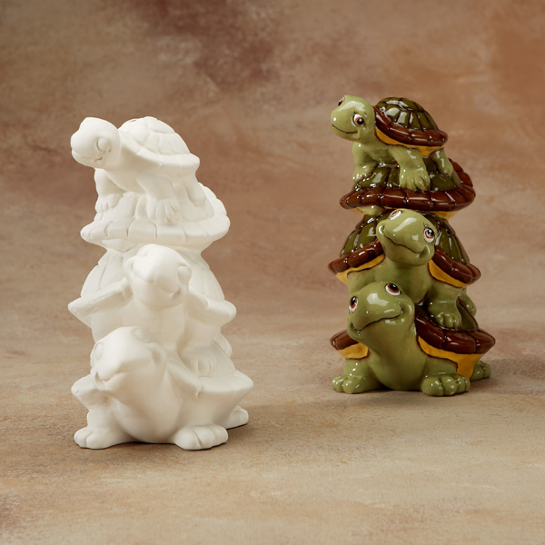 stack of turtles bank