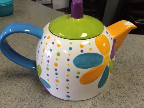 Retro Tea Pot