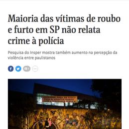 Radar Pesquisas na Folha de São Paulo 2018