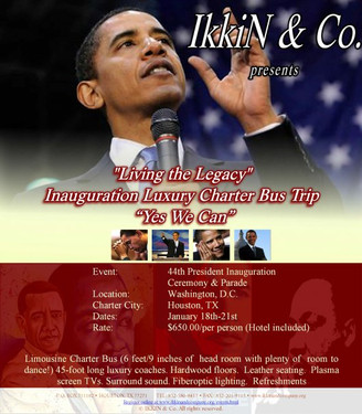 Living the Legacy Inauguration Trip 2009
