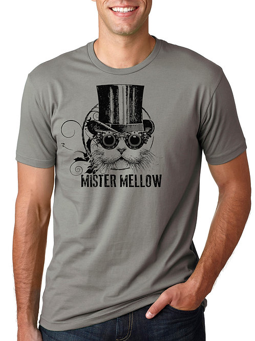 Mister Mellow T-Shirt Warm Grey