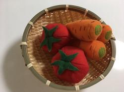 トマトと人参